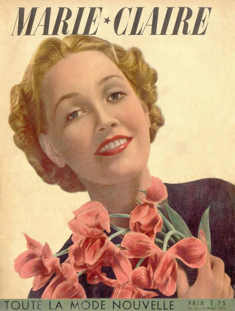 couverture vintage magasine marie claire 10 27 couvertures du magazine Marie Claire