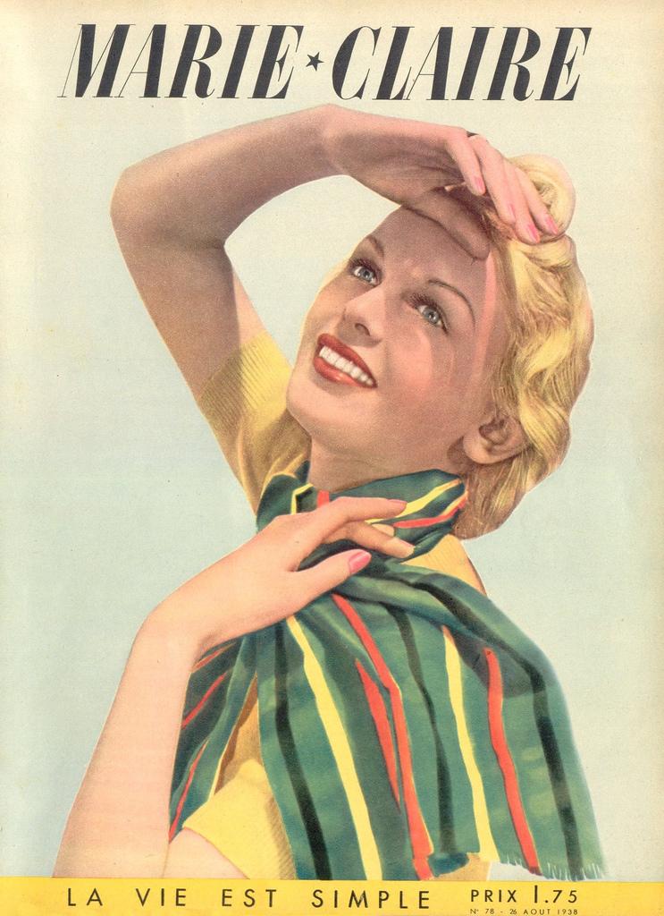 couverture vintage magasine marie claire 21 27 couvertures du magazine Marie Claire