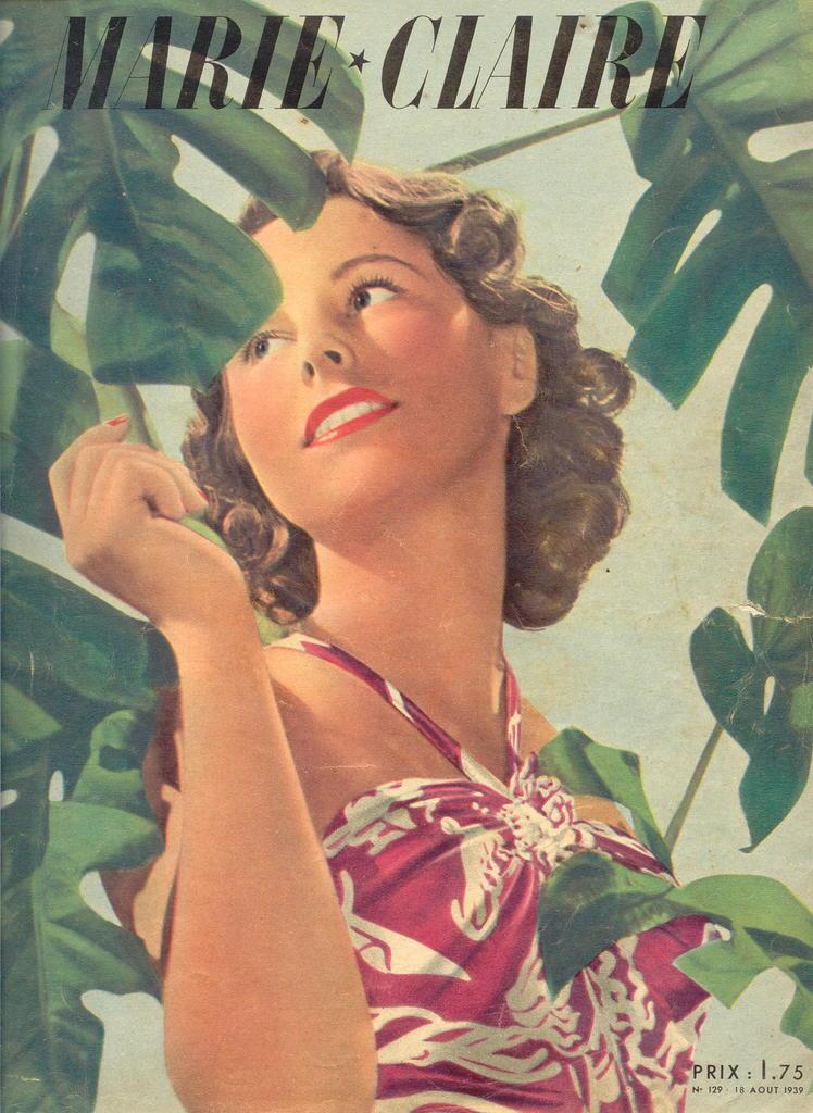 couverture vintage magasine marie claire 25 27 couvertures du magazine Marie Claire