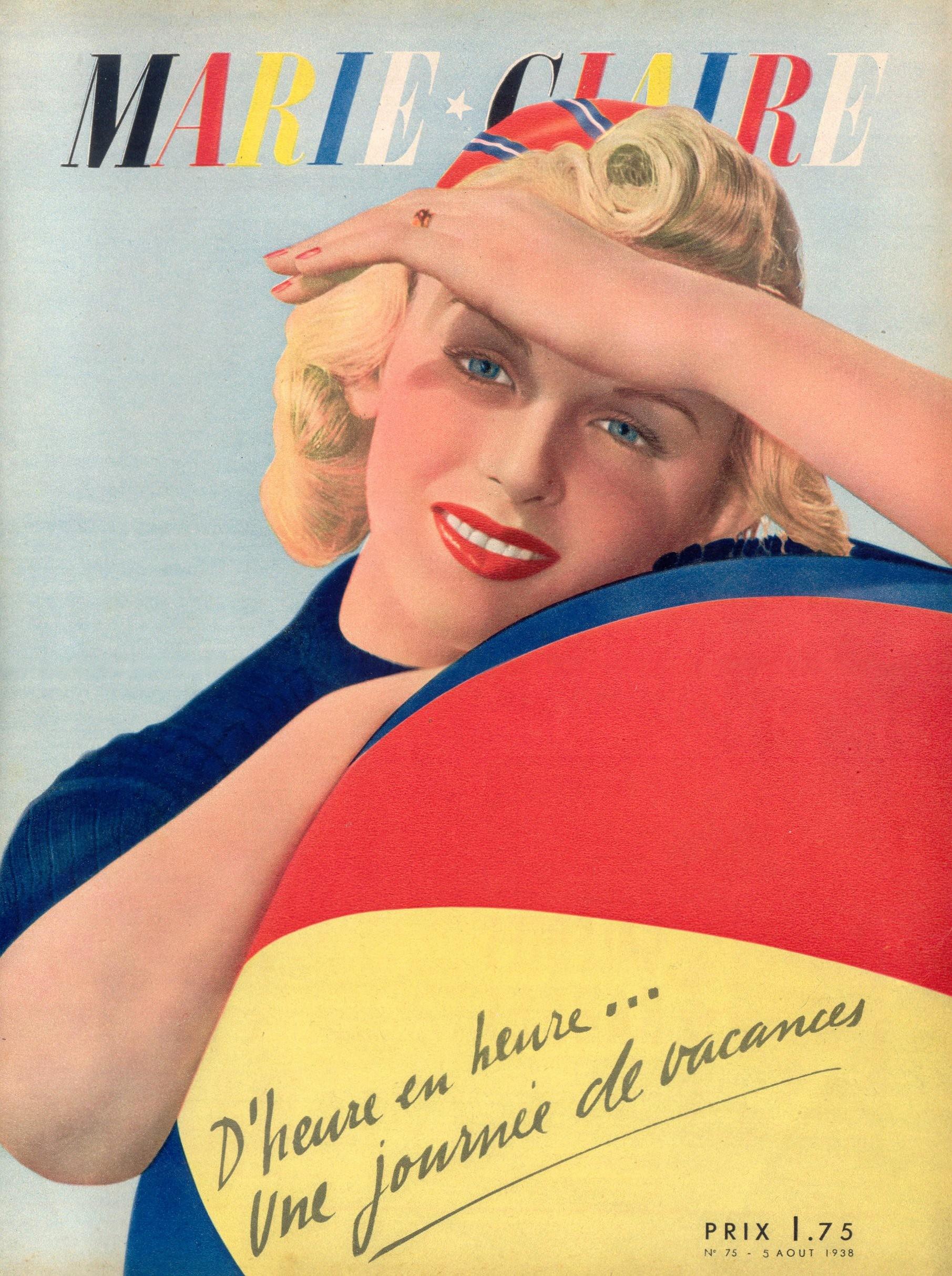couverture vintage magasine marie claire 27 27 couvertures du magazine Marie Claire