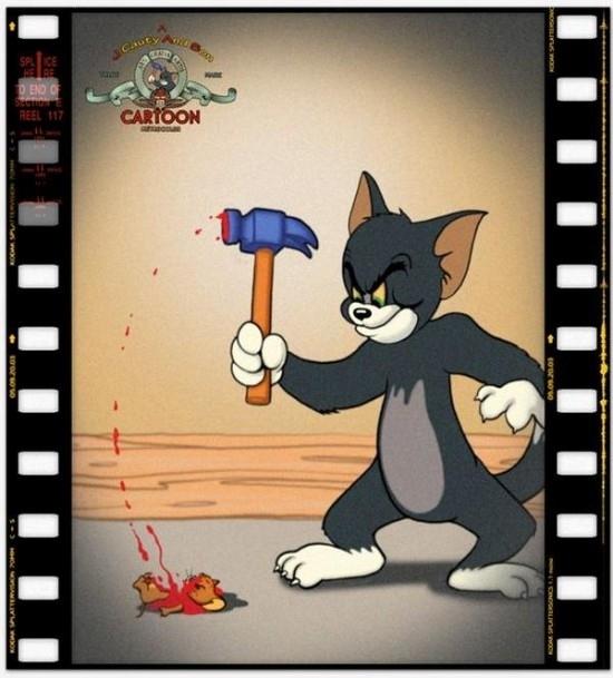 Célèbre Des dessins animés en version adulte et gore IH92