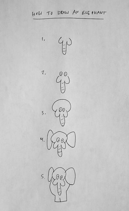 Super Comment dessiner un éléphant ? BL65