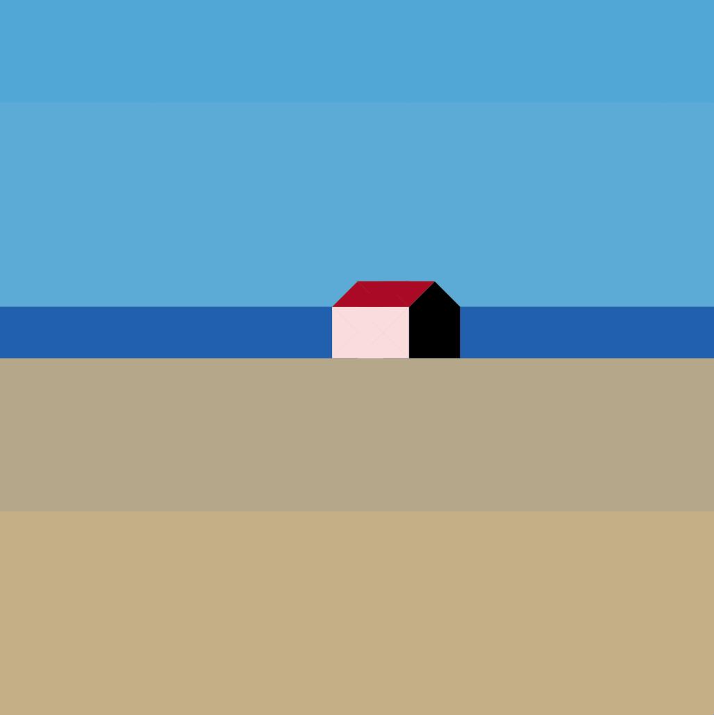 La petite maison minimaliste for Oeuvre minimaliste