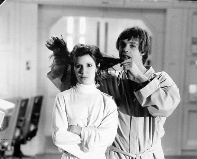 photo tournage rare star wars 012 110+ photos rares du tournage de Star Wars