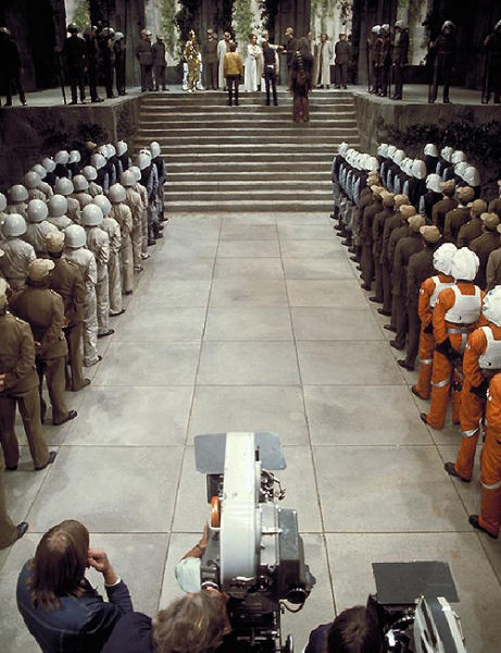 photo tournage rare star wars 07 110+ photos rares du tournage de Star Wars