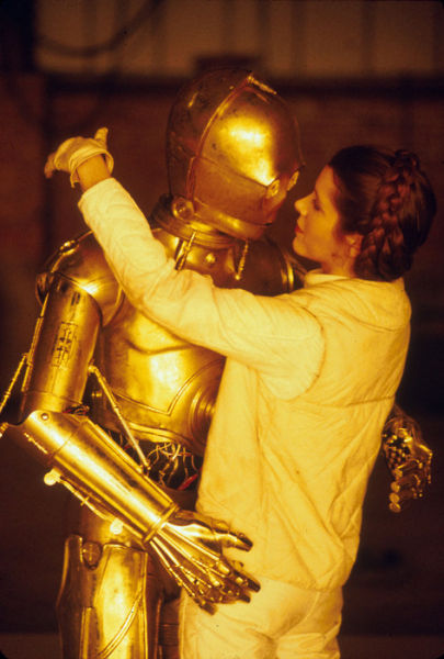 photo tournage rare star wars 09 110+ photos rares du tournage de Star Wars