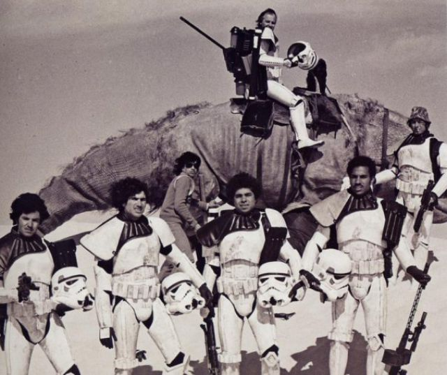 photo tournage rare star wars 11 110+ photos rares du tournage de Star Wars