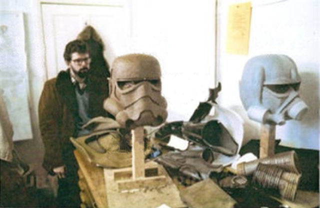 photo tournage rare star wars 112 110+ photos rares du tournage de Star Wars