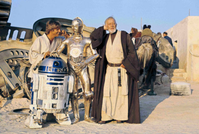 photo tournage rare star wars 18 110+ photos rares du tournage de Star Wars