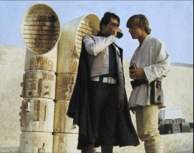 photo tournage rare star wars 20 110+ photos rares du tournage de Star Wars