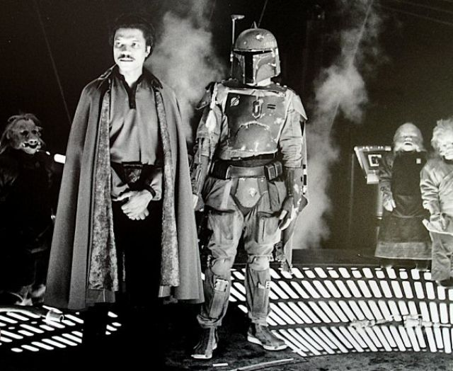 photo tournage rare star wars 31 110+ photos rares du tournage de Star Wars