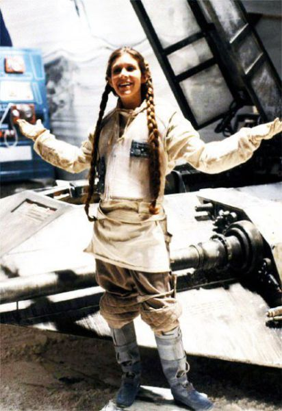photo tournage rare star wars 41 110+ photos rares du tournage de Star Wars
