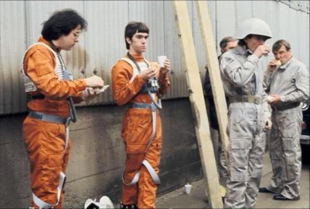 photo tournage rare star wars 45 110+ photos rares du tournage de Star Wars