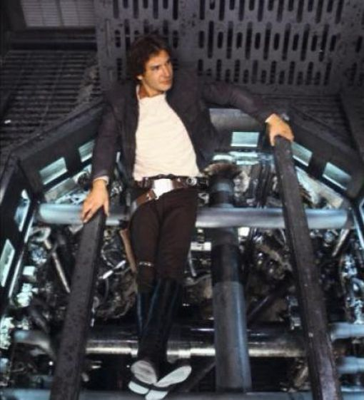 photo tournage rare star wars 49 110+ photos rares du tournage de Star Wars