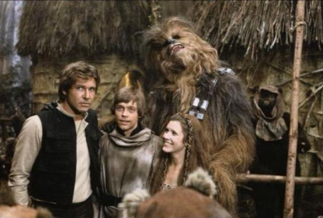 photo tournage rare star wars 56 110+ photos rares du tournage de Star Wars