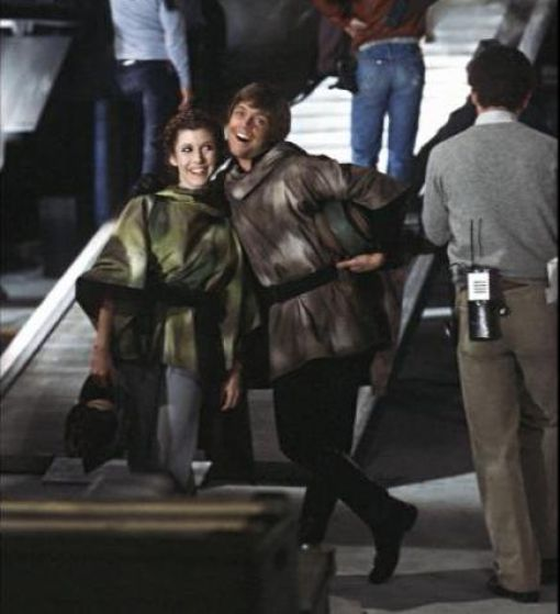 photo tournage rare star wars 59 110+ photos rares du tournage de Star Wars