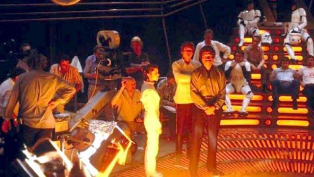 photo tournage rare star wars 62 110+ photos rares du tournage de Star Wars