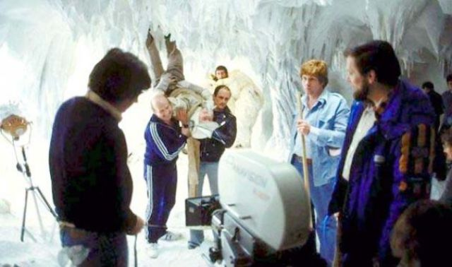 photo tournage rare star wars 65 110+ photos rares du tournage de Star Wars