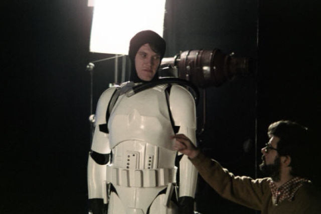 photo tournage rare star wars 67 110+ photos rares du tournage de Star Wars