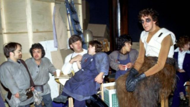 photo tournage rare star wars 71 110+ photos rares du tournage de Star Wars