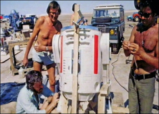 photo tournage rare star wars 74 110+ photos rares du tournage de Star Wars