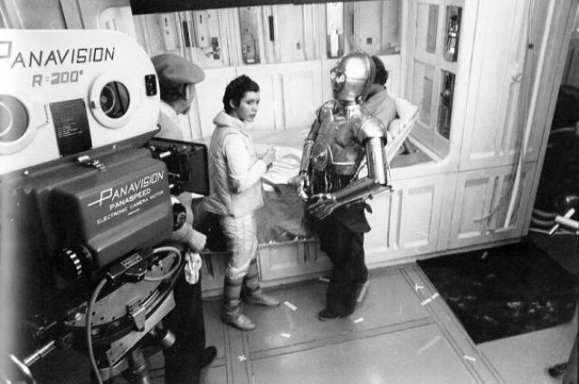photo tournage rare star wars 78 110+ photos rares du tournage de Star Wars