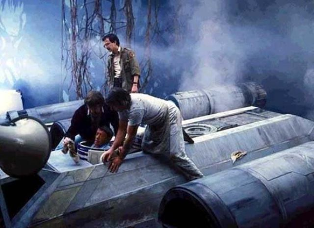 photo tournage rare star wars 79 110+ photos rares du tournage de Star Wars