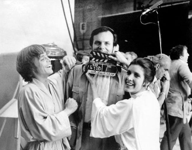 photo tournage rare star wars 89 110+ photos rares du tournage de Star Wars