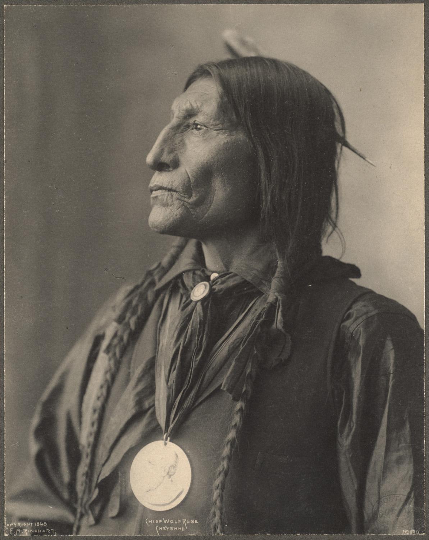 portrait indien reinhart usa ancien 01 Les portraits d'Indiens de Frank A. Rinehart