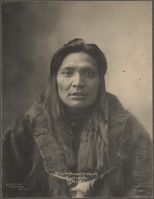portrait indien reinhart usa ancien 02 Les portraits d'Indiens de Frank A. Rinehart