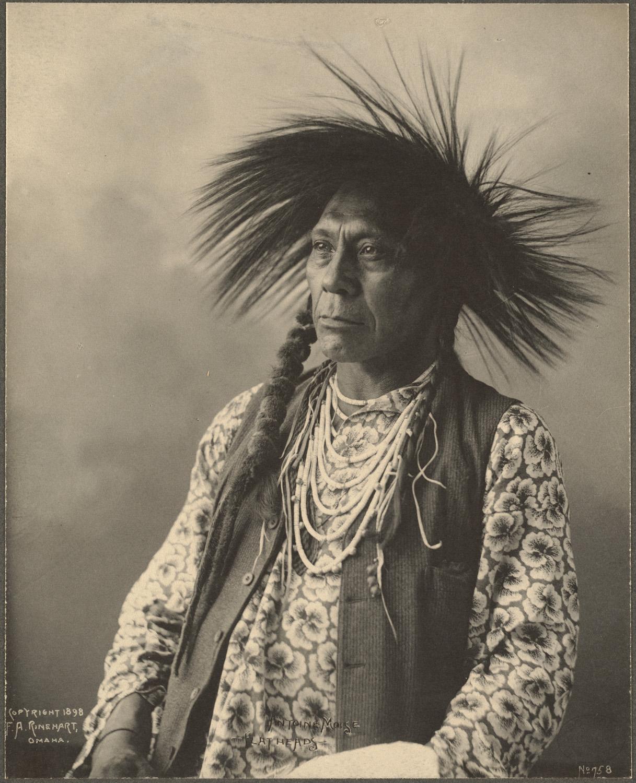 portrait indien reinhart usa ancien 03 Les portraits d'Indiens de Frank A. Rinehart
