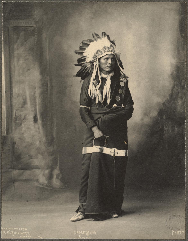 portrait indien reinhart usa ancien 06 Les portraits d'Indiens de Frank A. Rinehart