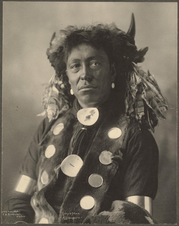 portrait indien reinhart usa ancien 07 Les portraits d'Indiens de Frank A. Rinehart