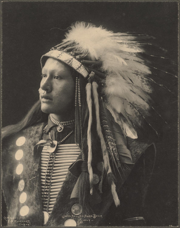 portrait indien reinhart usa ancien 09 Les portraits d'Indiens de Frank A. Rinehart