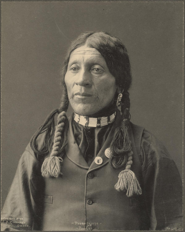 portrait indien reinhart usa ancien 17 Les portraits d'Indiens de Frank A. Rinehart