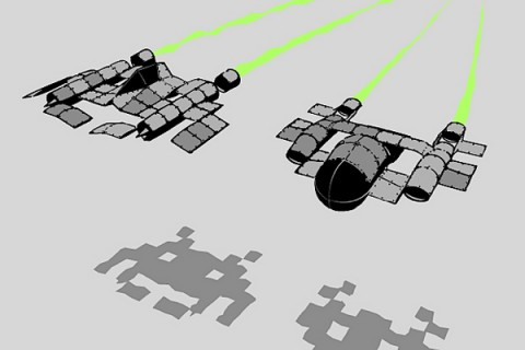 space-invasion