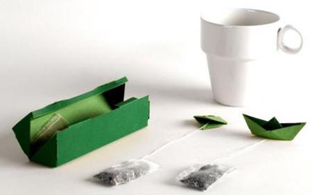the embalage preparation infusion insolite original 09 Du thé avec des emballages faciles à infuser