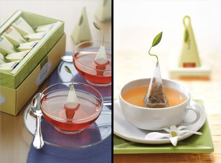 the embalage preparation infusion insolite original 10 Du thé avec des emballages faciles à infuser