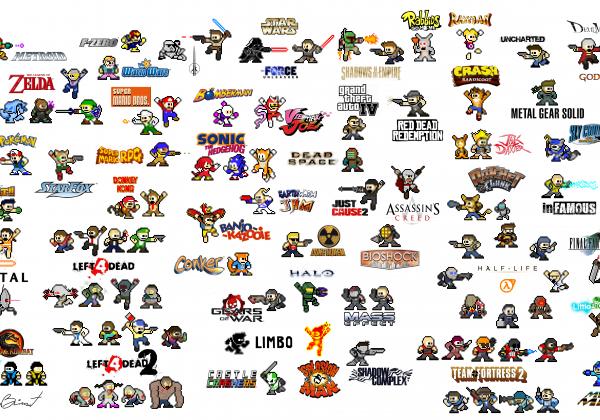 personnages-jeu-video-8bit