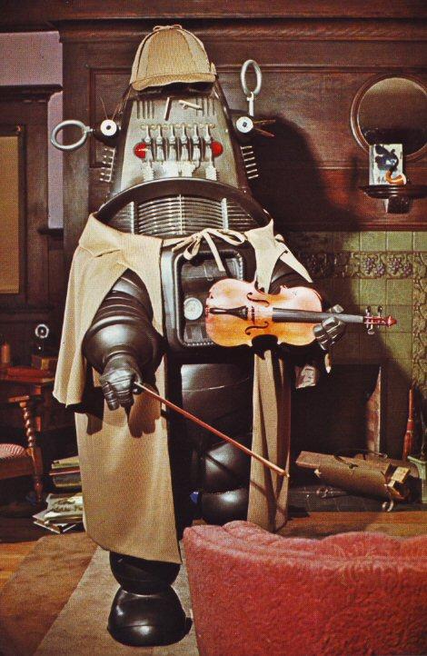 robot sherlock holmes Robot Sherlock Holmes