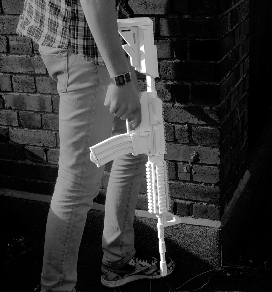 arme papier 04 Des armes en papier