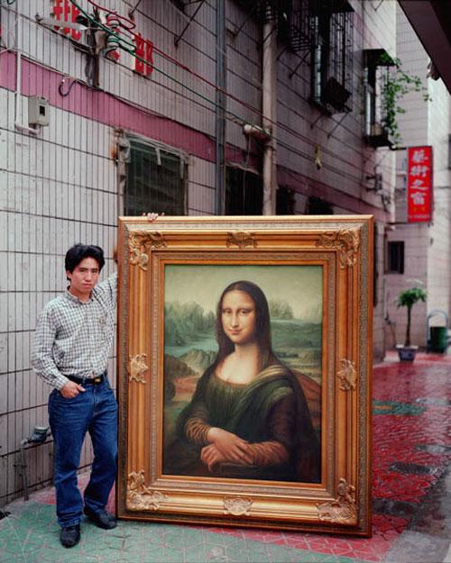 Reproductions Chinoises De Peintures Avec Leurs Auteurs