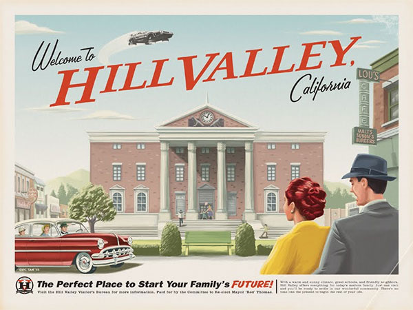 welcome to hill valley retour futur Welcome to Hill Valley