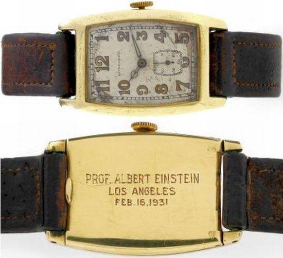 albert einsteins montre La montre dEinstein