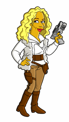 doctor who simpsons 10 Les personnages de Doctor Who Simpsonisés