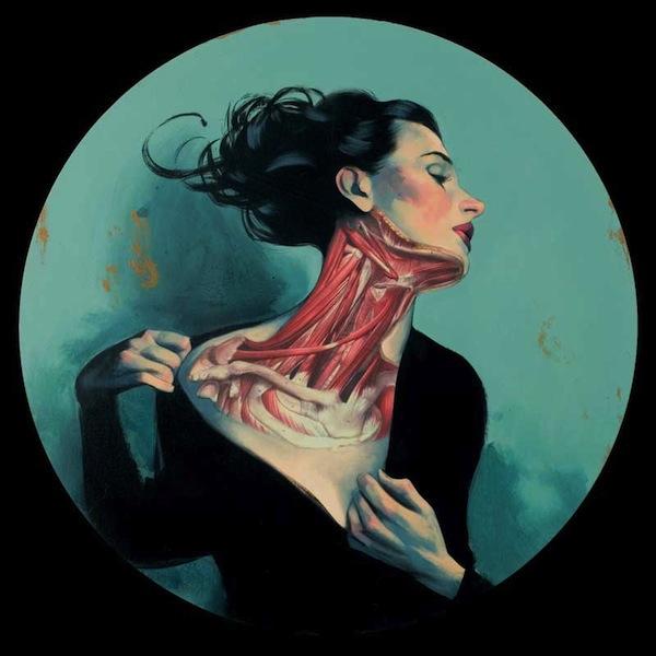 peinture anatomie mecanique 02 Peintures anatomiques de Fernando Vicente