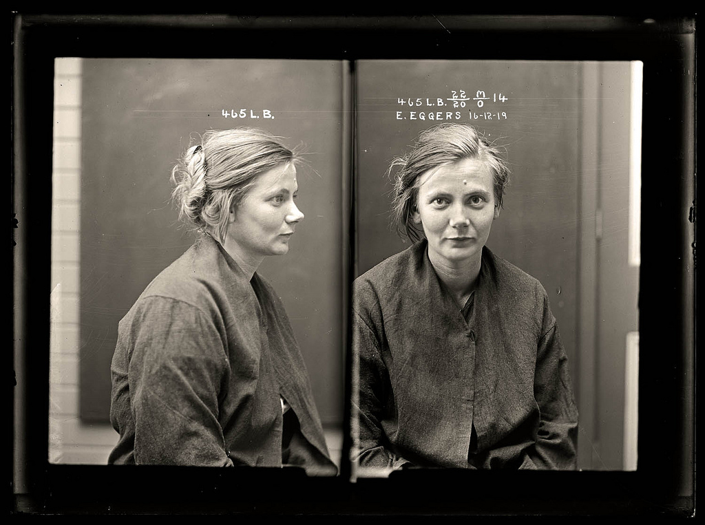 photo police sydney australie mugshot 1920 02 Portraits de criminels australiens dans les années 1920