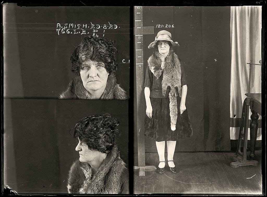 photo police sydney australie mugshot 1920 03 Portraits de criminels australiens dans les années 1920