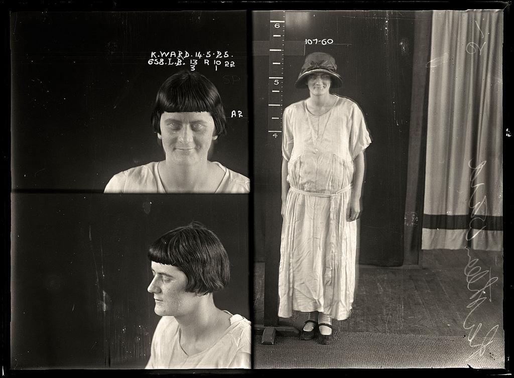 photo police sydney australie mugshot 1920 07 Portraits de criminels australiens dans les années 1920