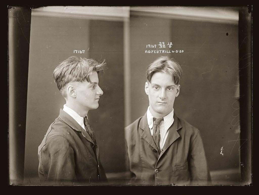 photo police sydney australie mugshot 1920 12 Portraits de criminels australiens dans les années 1920